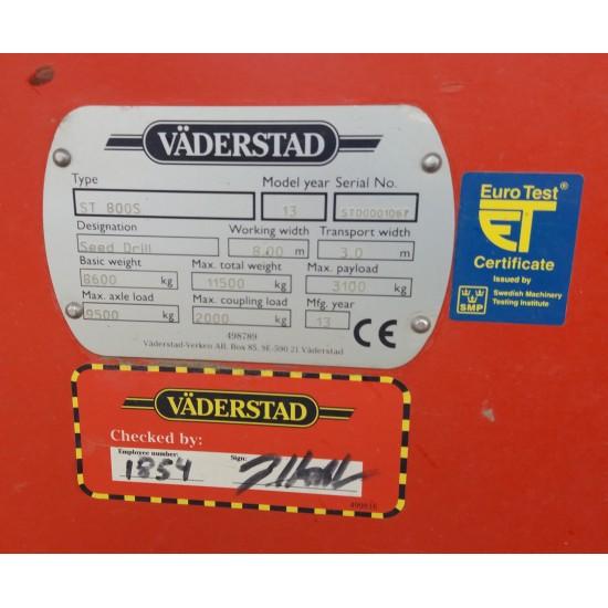 Prikabinama sėjamoji Väderstad Spirit 800 S_
